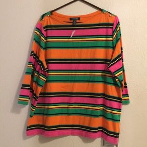 Ralph Lauren Ladies Blouse Size 2X